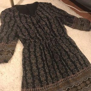 Madewell chiffon dress